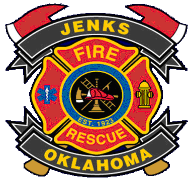 Jenks Fire and Rescue Patch